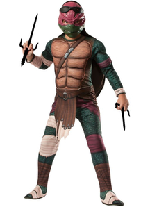 Raphael Ninja Turtle Costume For Kids