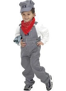 Train Engineer Child Costume