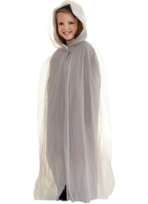 Tulle Cape Grey Child