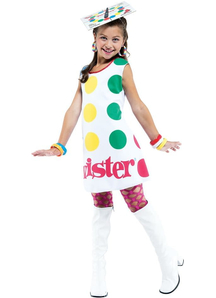 Twister Game Child Costume