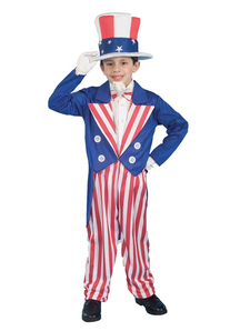 Uncle Sam Deluxe Child Costume