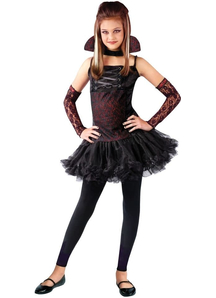 Vampiress Balerina Child Costume