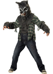 Wild Werewolf Child Costume