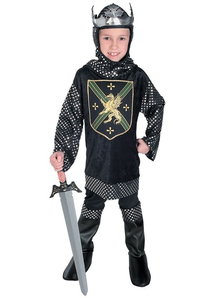 Young Knight Child Costume