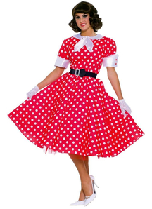 50'S Woman Adult Costume