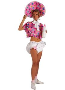 Baby Girl Adult Costume