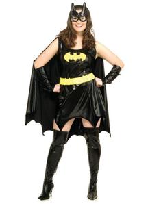 Batgirl Costume Adult Plus Size