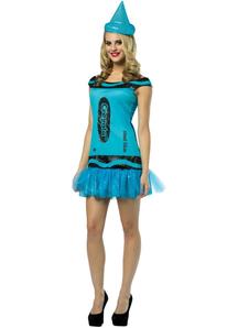 Blue Crayola Adult Costume