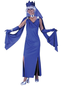 Blue Mistress Adult Costume