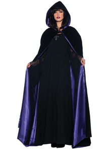 Cape Black/Purple Adult