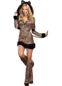 Cheetah Luscious Adult Costume