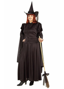 Classic Witch Adult Plus Size Costume