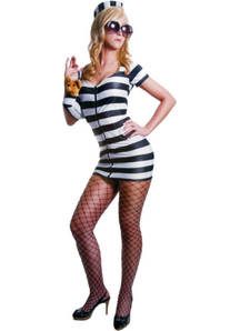 Convicted Lady Adult Costume