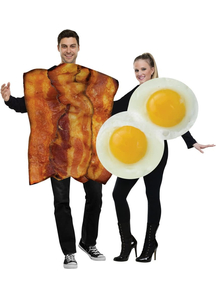 Couple Costume Bacon Eggs