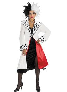 Cruella De Vil Adult Costume