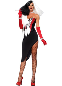 Cruella One Hundred And One Dalmatians Adult Costume