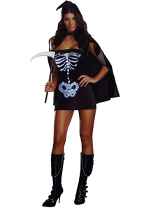Cute Bones Adult Costume