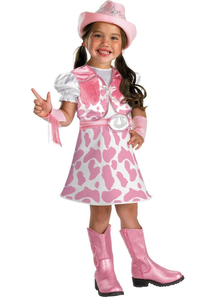 Cute Cowgirl Child Costume