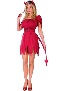 Cute Deviless Adult Costume