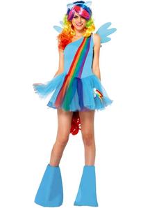 Cute Rainbow Adult Costume