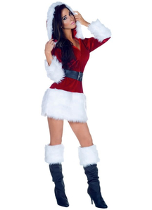 Cute Santa Adult Costume