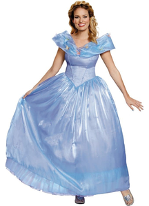 Deluxe Disney Cinderella Movie Adult Costume