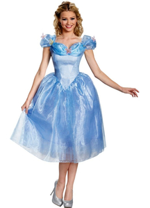 Disney Movie Cinderella Adult Costume