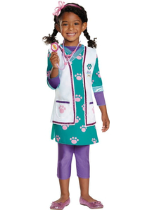 Doc Pet Vet Girls Costume