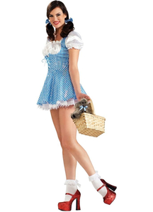 Dorothy Wiz Of Oz Adult Costume