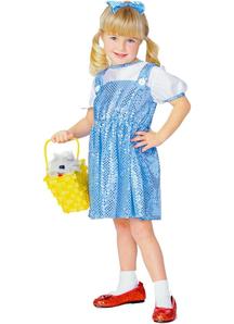 Dorothy Wiz Of Oz Child Costume