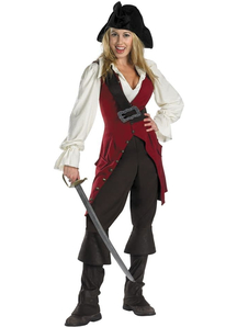 Elizabeth Pirate Of The Carribean Adult Costume