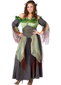 Forest Lady Adult Plus Size Costume