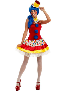 Funny Clown Adult Costume