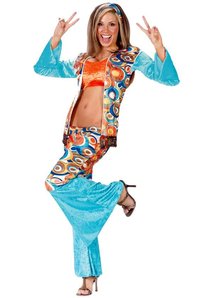 Funny Hippie Adult Costume