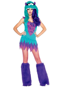 Fuzzy Monster Adult Costume