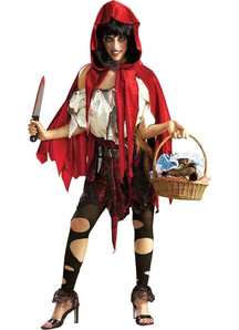 Halloween Riding Hood Adult Costume