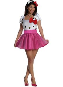 Hello Kitty Adult Costume