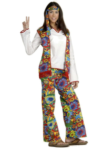 Hippie Woman Adult Costume