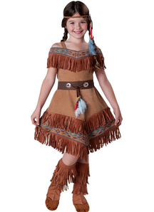 Indian Girl Child Costume