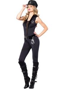 Lady Officer Adult Costume