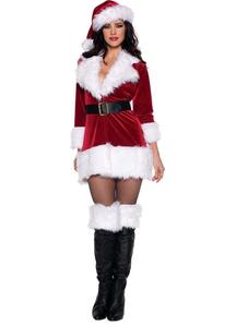 Lady Santa Adult Costume