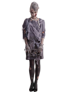 Lady Zombie Adult Costume