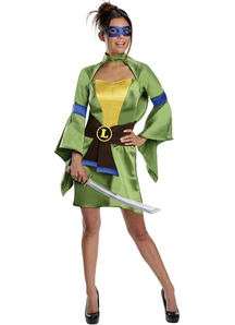 Leonardo Tmnt Female Adult Costume