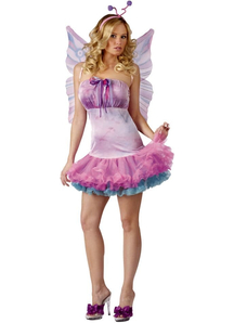 Light Butterfly Adult Costume