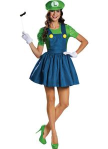 Luigi Female Adult Kit