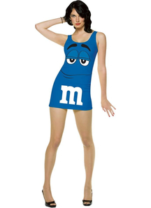 M&M Blue Adult Costume