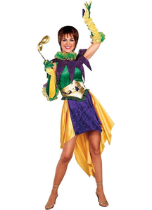 Mardi Grass Female Costume