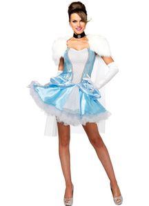 Miss Cinderella Halloween Costume Women