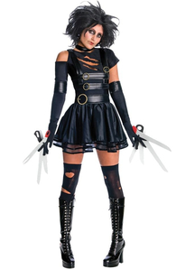 Miss Edward Scissorhands Adult Costume