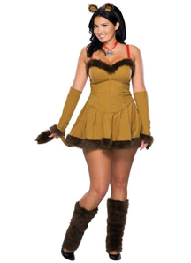 Miss Lion Adult Costume
